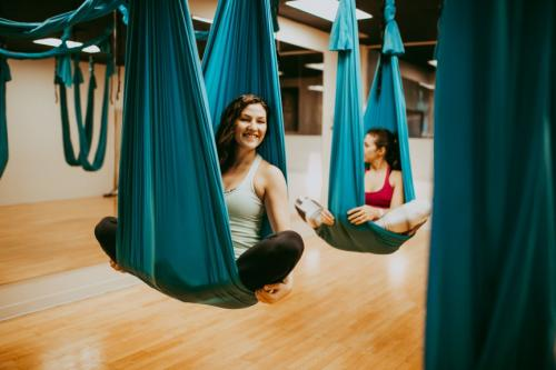 Aerial yoga teacher training Vancouver